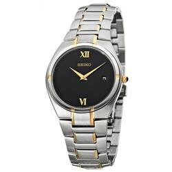 Seiko Men's Two-tone Steel Quartz Watch