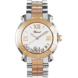 Chopard Happy Sport Round Two-tone Women&#39;s Watch