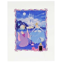 Cinderella Authentic Collecible Lithograph