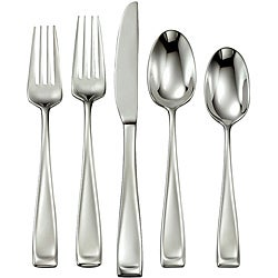 Oneida 'Moda' 65-piece Stainless Steel Flatware Set | Overstock.