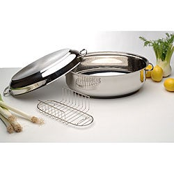 Induction Ready15-inch Oval Double Roaster