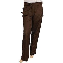 Dark Brown Pants For Women