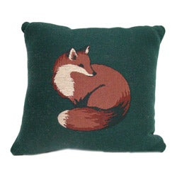 Fox Tapestry Throw Pillows (Set of 2)