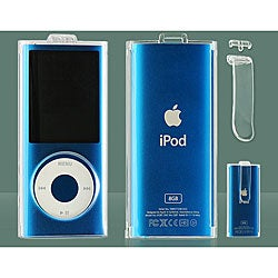 Apple iPod Nano 4th Generation Crystal Case with Clip