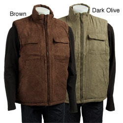 10,000 Feet Above Sea Level Men's Faux Suede Vest