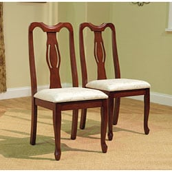 Queen Ann Dining Chairs (Set of 2)