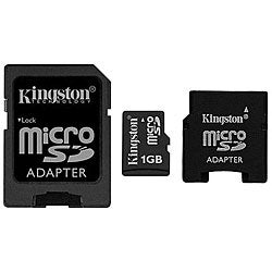 Kingston MBLY/1GBKR 1GB Micro SD Cards (Pack of 10