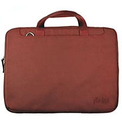 Pinder Bags Burgundy Nylon 14-inch Laptop Sleeve