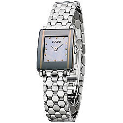 Rado Integral Women's Stainless Steel Quartz Watch