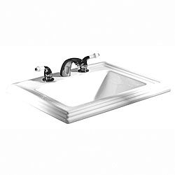 Hathaway 8-inch Center Drop-in Lavatory