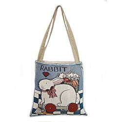 American Mills Country Bunny Open-top Tote Bag