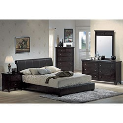 Chocolate Espresso Platform King Bedroom Set | Overstock.