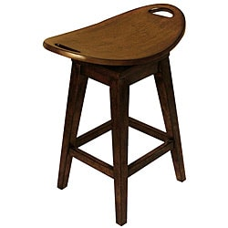 Thoroughbred Espresso Counter Stool