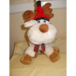 Floppy Moose Plush Pet Toy