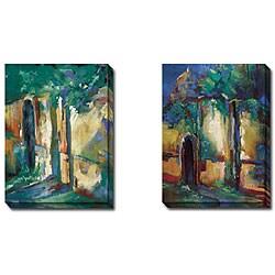 Caroline Ashton 'Adobe I and II' 2-piece Canvas Art Set