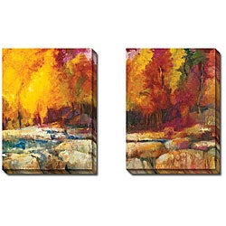 Gallery Direct Sylvia Angeli 'Mountain High IV and V' 2-piece Canvas Art Set