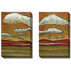 Gallery Direct DeRosier 'Discovery I and II' 2-piece Canvas Art Set