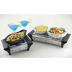 Small and Large Food Warmer Combo Set