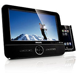 Philips DCP851/37x Portable DVD/ iPod Player (Refurbished)