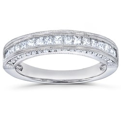 14k Gold 1/2ct TDW Princess Diamond Band (H-I, I1-I2)