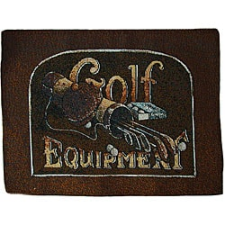 Golf Equipment Tapestry Placemats (Set of 6)