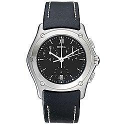Ebel Classic Wave Men's Steel Chronograph Watch