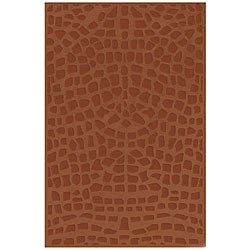 Tufted Reptile Wool Rug (4'7 x 7'7)