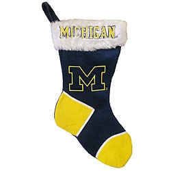 Michigan Wolverines Christmas Stocking