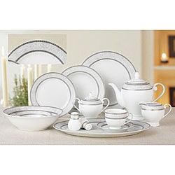 Lorenzo Sirena 57-piece Dinnerware Set