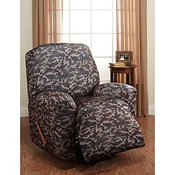 Camouflage Stretch Recliner Slipcover