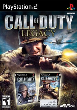 PS2 - Call of Duty Legacy (Includes Finest Hour, Big Red One)