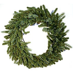 Lacrosse Fir 48-inch Prelit Christmas Wreath