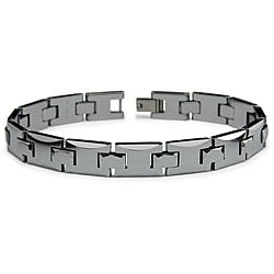 Men's Tungsten Link Bracelet