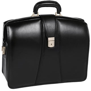 McKlein Harrison Black 17-inch Partners Laptop Briefcase