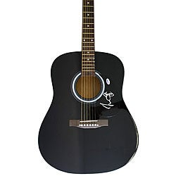 James Taylor Autographed Acoustic Guitar