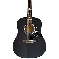 James Taylor Autographed Acoustic Guitar