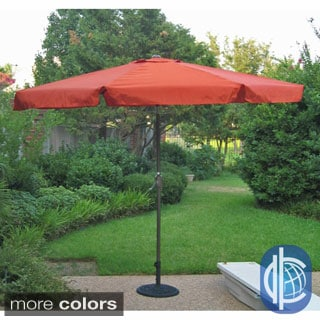 International Caravan Aluminum 10-foot Patio Umbrella