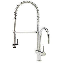VIGO Chrome Pull-Down Spray Kitchen Faucet