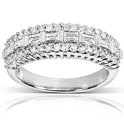 14k Gold 5/8ct TDW Baguette Diamond Anniversary Band (H-I, I1-I2)