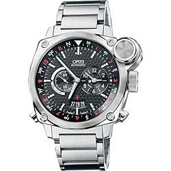 Oris Men's BC4 Flight Triple Timer Men's Watch