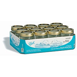 Ball Half-pint/ 8-ounce Mason Jars (Set of 12)