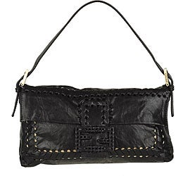 Fendi Small Black Parchment Handbag