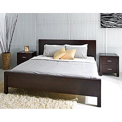 Abbyson Living Hamptons Queen-size Platform Bed