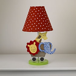 Cotton Tale Animal Tracks Decorator Lamp