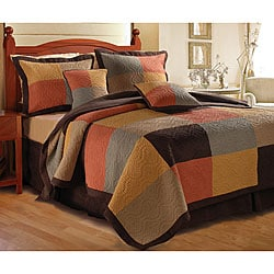 Trafalgar King-size 3-piece Quilt Set