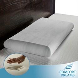 Comfort Dreams EnviroGreen Crowned Low Profile King-size Memory Foam Pillow