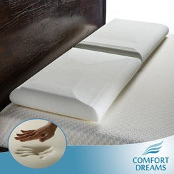 Comfort Dreams Plush Elite Feel Queen-size Memory Foam Pillows (Set of 2)