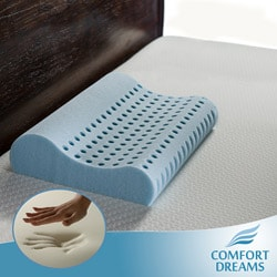 Comfort Dreams Cool Sleep Super Soft Shoulder Memory Foam Contour Pillows (Set of 2)