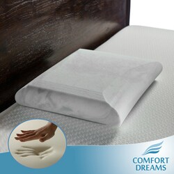 Comfort Dreams Crowned Classic EnviroGreen Standard-size Memory Foam Pillow