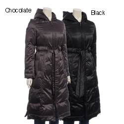 Via Spiga Women's Maxi-length Hooded Down Jacket